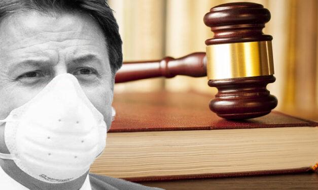 DPCM illegali. Denuncia Penale contro il Governo.
