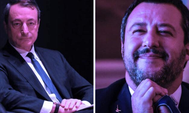 Draghi prende a schiaffi la Lega – MARCO GERVASONI